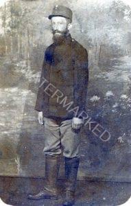 ראובן הלוי פאהן, חיל בצבא האוסטרו-הונגרי, 1917
