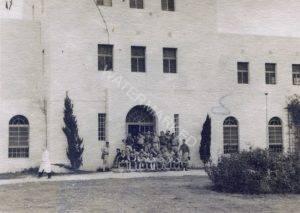 """מבנהו המרשים של ביה""""ס החקלאי """"כדורי"""" נקודת מפגש באחד מסמליה המובהקים של התקומה הציונית בצפון הארץ."""