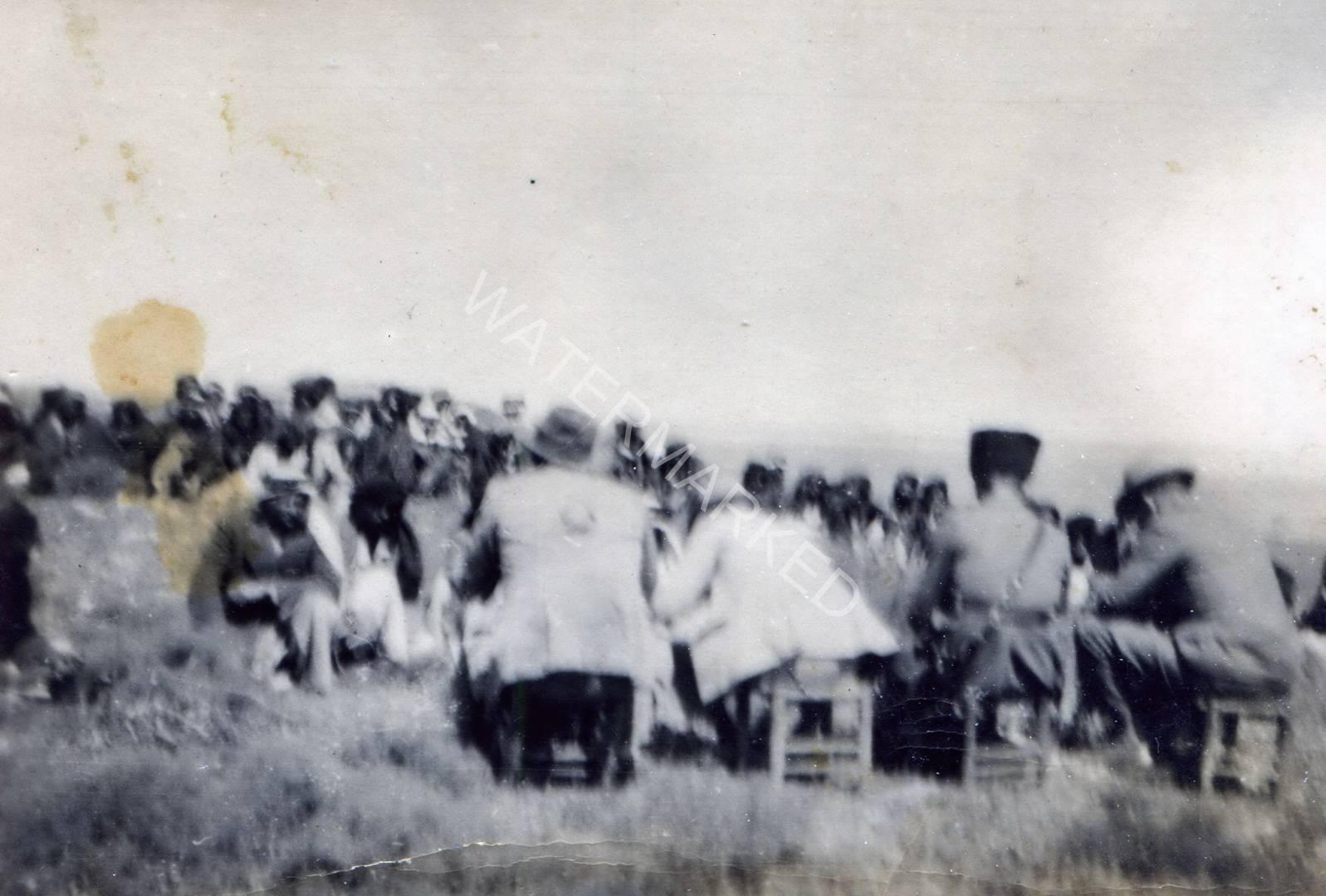 כפר ויתקין משא ומתן עם הערבים