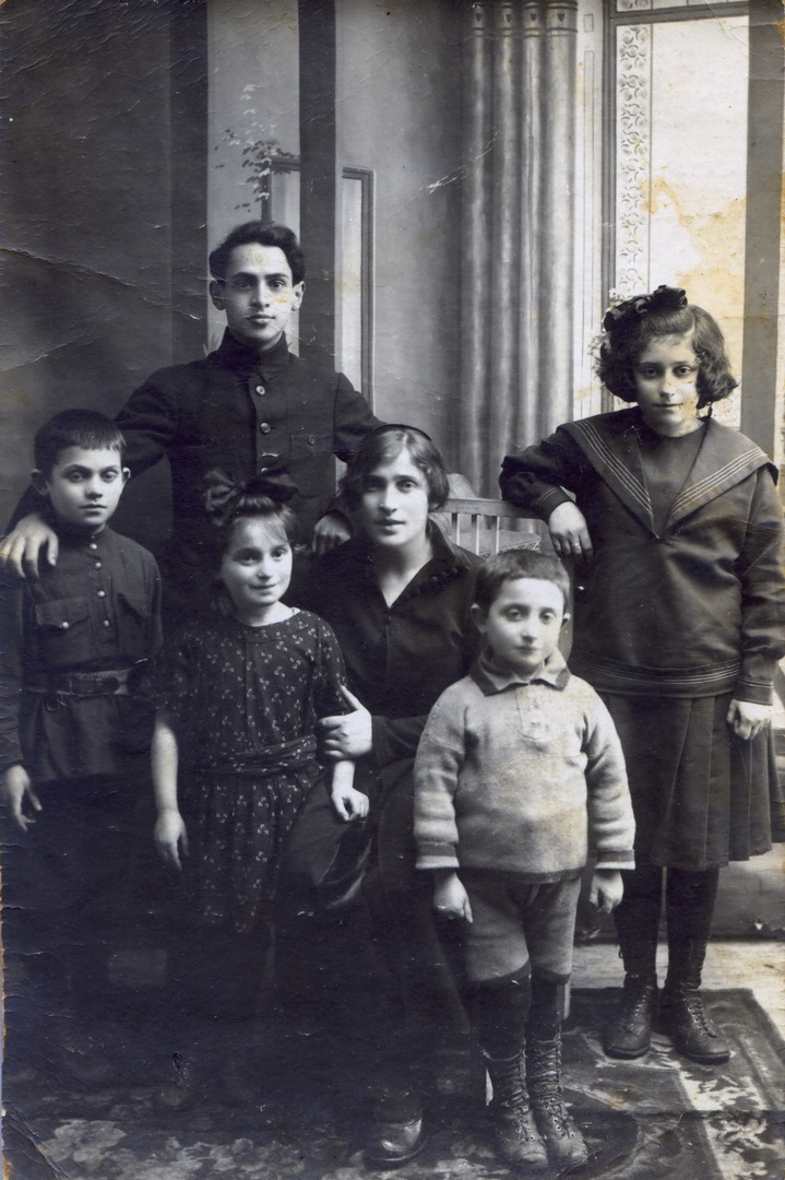 רובנה משפחת בורינטר