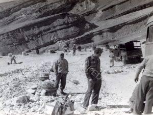 לאחר מלחמת השחרור (1954) מחבלים בדרך ל