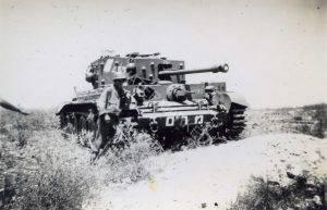 """אחד משני ה""""קרומוולים"""" של גד' 82 הושארו ע""""י הבריטים עם עזיבתם את הארץ ו""""נשלפו"""" מבסיסם בחיפה באמצעות משתפי פעולה בריטים. השתתפו בהתקפה (הכושלת) על עיראק אל מנשיה במבצע """"יואב"""" ב 16 באוקטובר 48."""