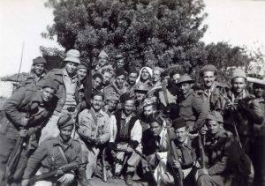 כיתוב: סלמה, 29.4.1948 אחרי ההשתלטות.